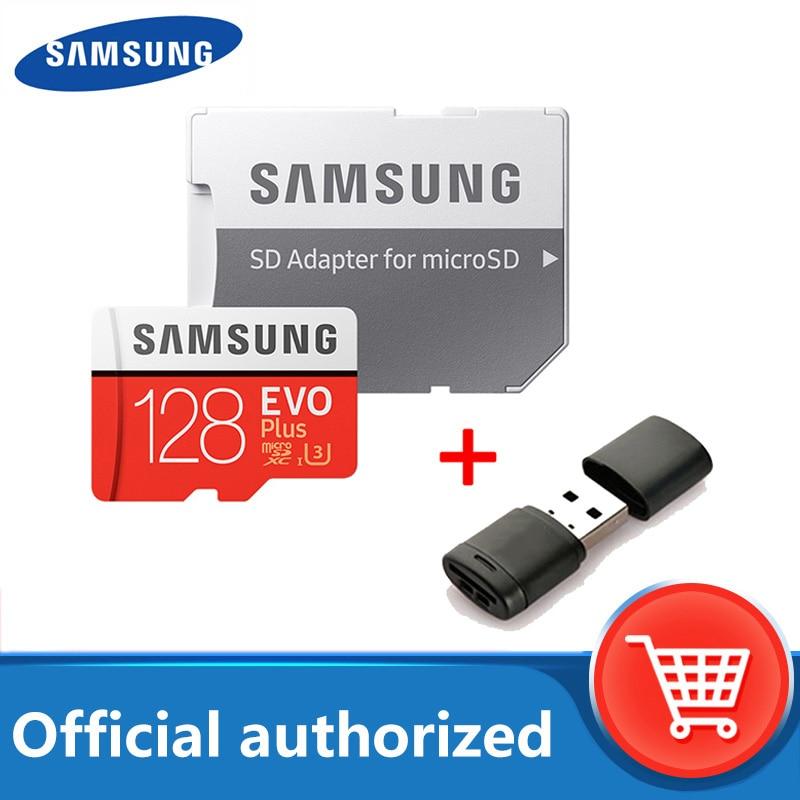 Micro SD карта памяти SAMSUNG, класс 10, 128 ГБ, 512 ГБ, 256 ГБ, 64 ГБ, 8 Гб