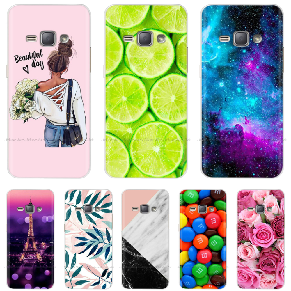<font><b>For</b></font> Coque <font><b>Samsung</b></font> <font><b>Galaxy</b></font> J1 2016 <font><b>Case</b></font> Soft TPU Silicone <font><b>Case</b></font> <font><b>For</b></font> Funda <font><b>Samsung</b></font> J1 6 2016 J120 <font><b>J120F</b></font> J120H <font><b>J120F</b></font>/ds Phone <font><b>Cases</b></font> image