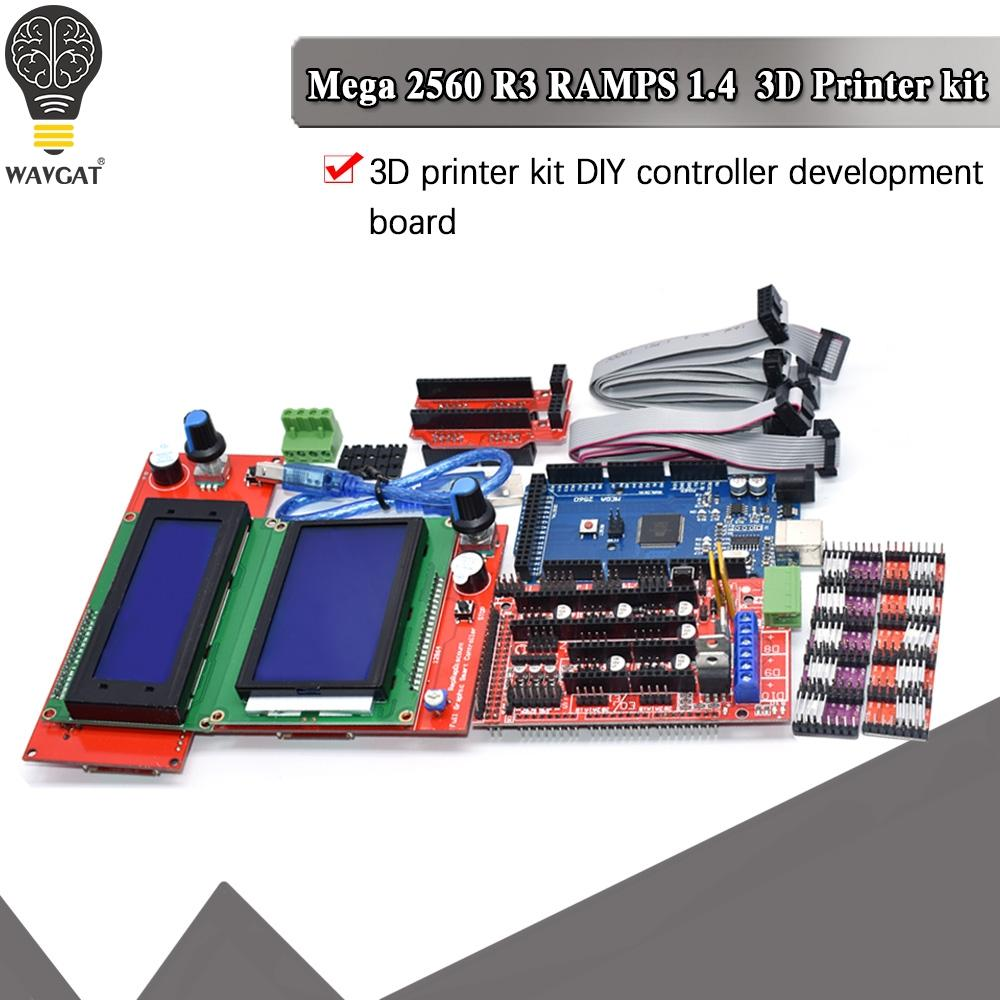 Driver-Module RAMPS 12864-Controller 3d-Printer-Kit Stepper Mega 2560 A4988/DRV8825 CH340