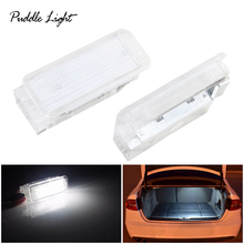 2PCS LED Footwell Luggage Compartment Lights Lamp For Peugeot t 1007 206 207 306 307 3008 406 407 5008 607 806 807 RCZ Expert