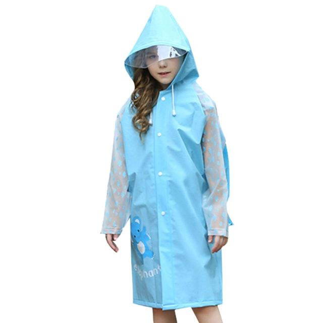 Waterproof raincoat for kids hoode