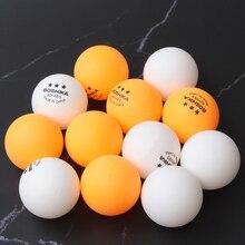 FDBRO 12 шт. профессиональные мячи для настольного тенниса 3 звезды 40+ мм ABS пластиковый мяч для пинг-понга тренировочная ракетка Спортивная 2 цвета