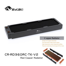 Bykski Copper Cooling Radiator 120/240/360mm 40cm Thick, Water Cooling Row For PC Cooler