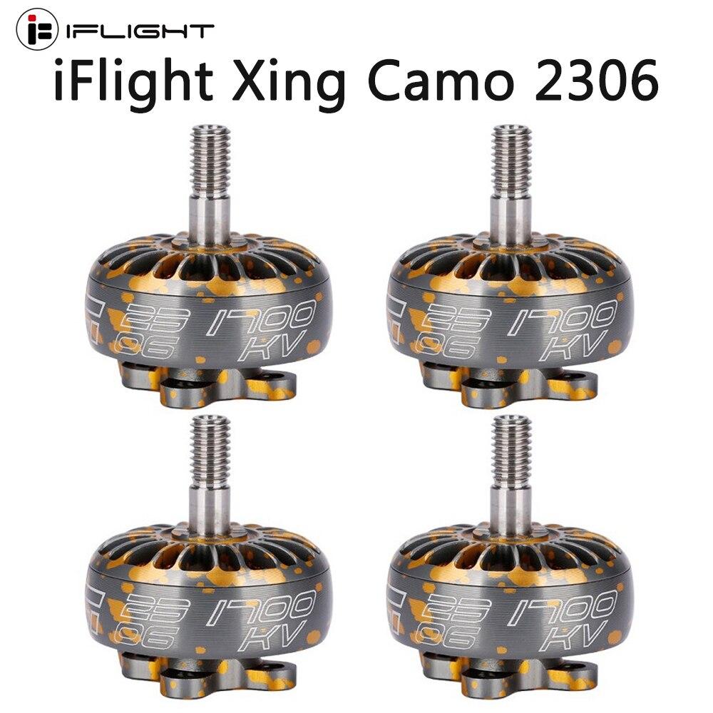IFlight XING красочный оранжевый 2306 1700KV 2450KV 2750KV бесщеточный двигатель 2 4S для радиоуправляемого дрона FPV гоночного мультикоптера ротора запчасти|Детали и аксессуары|   | АлиЭкспресс