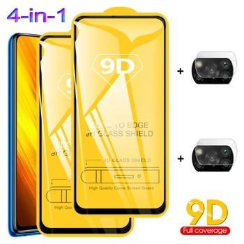 poco x3, tempered glass for poco x3 nfc glass pocophone f2 pro camera protection poko f2 pro xiaomi poco x3 screen protector