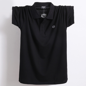 Image 5 - Summer Men Polo Shirt Brand Clothing Pure Cotton Men Business Casual Male Polo Shirt Short Sleeve Breathable Soft Polo Shirt 5XL