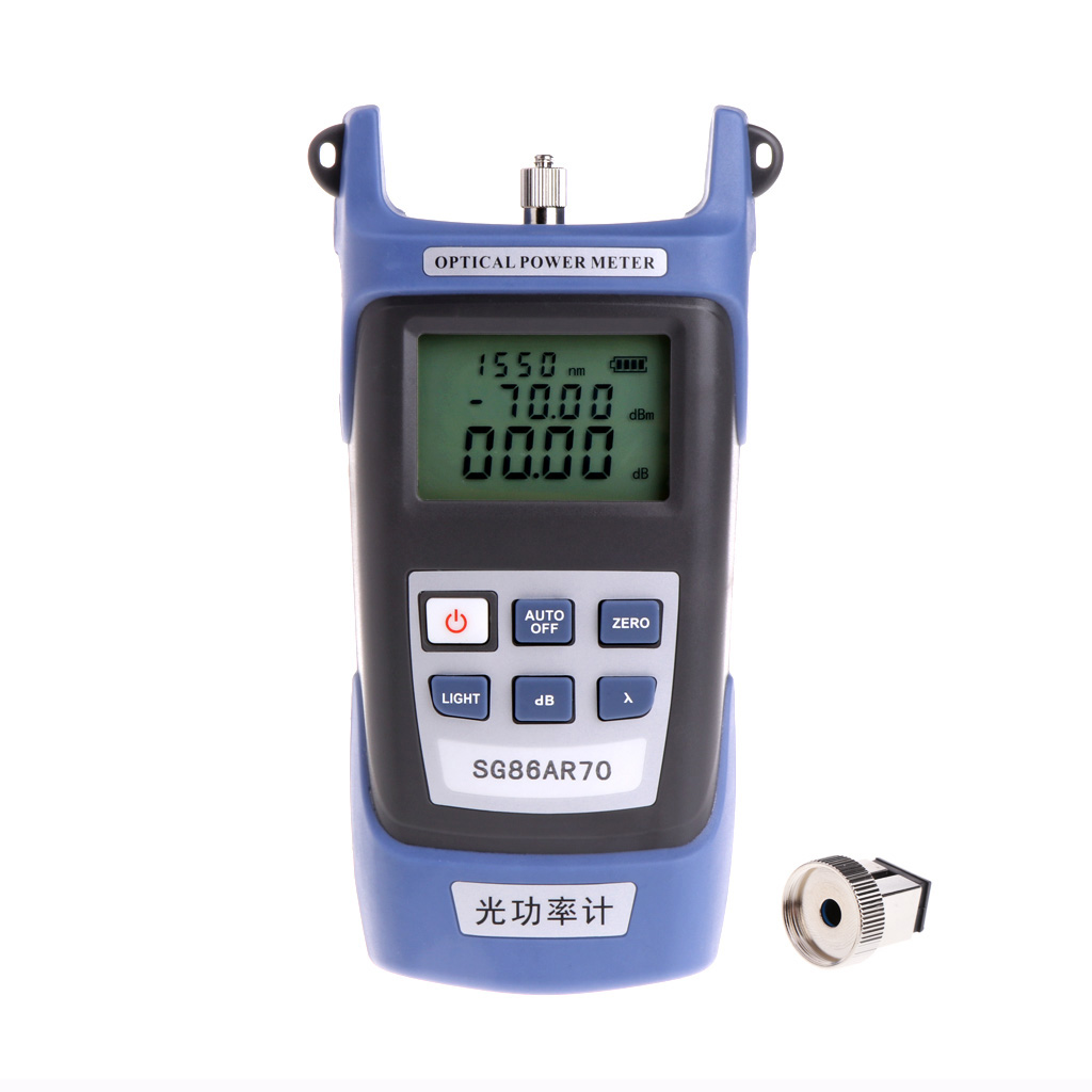 High Precision Optical Power Meter Fiber Testing Tools Wiring Light Decay Tester|Power Meters| |  - title=