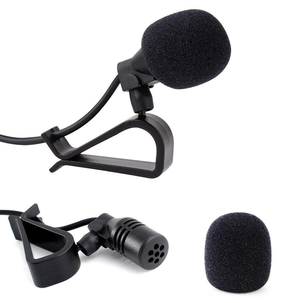 Brand New 2.5mm 2m Length Bluetooth External Microphone Car For Pioneer Stereos Radio Receiver