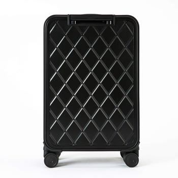 100% aluminum material, technology and fashion, high quality 16/20/24 size Luggage Spinner brand Travel Suitcase