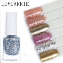 Блестящий лак для ногтей lovcarrie 12 мл голографические блестки