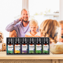 6pcs Pure Plant Essential Oils Aromatic Aromatherapy Diffusers Aroma Oil Lavender Tea Tree Essential Oil Body Massage Oils Care цена и фото