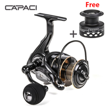 New RT Spinning Reel Double Spool Fishing Reel 5.5: 1BB Metal Spool Fishing Reels Carp Fishing Sea Fishing Outdoor Casting Reel