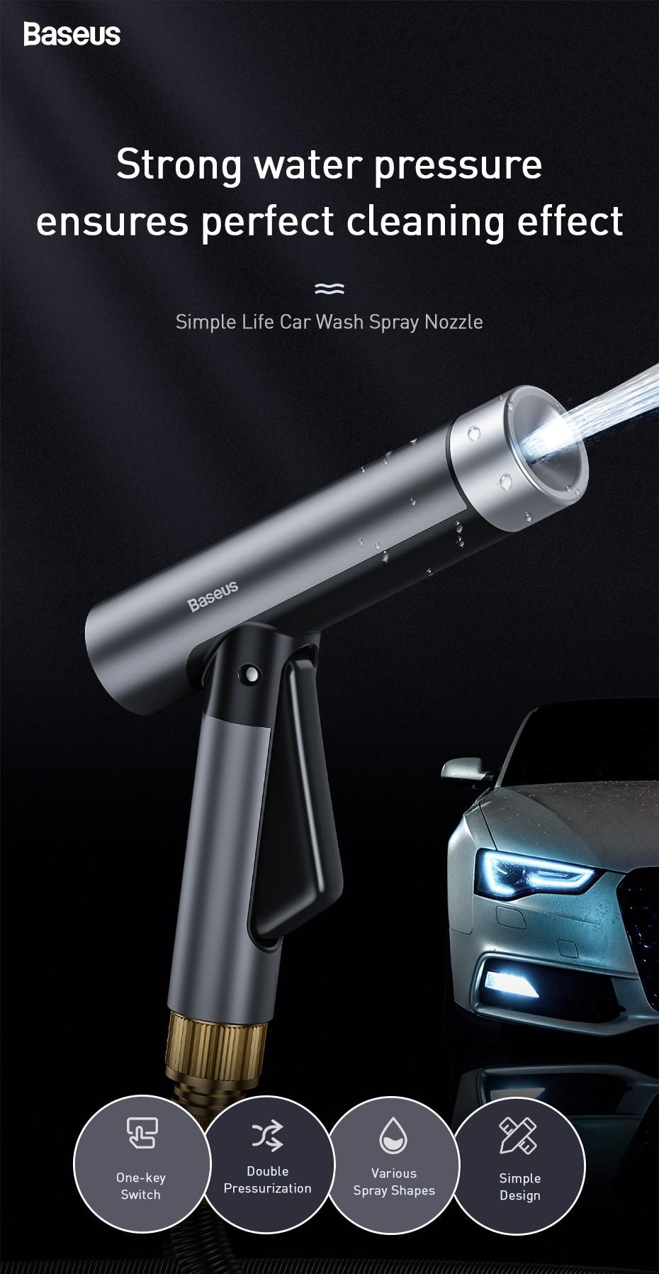 Baseus Car Washing Gun Water Sprayer 5