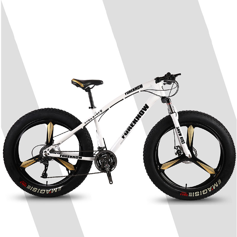 Bicycle Mountain Bike Three Knife One Wheel Riding Off Road Wide Tires Adult Leisure Speed Male And Female Students