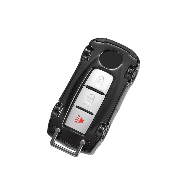 Car key Case Cover Fob Chain Suit For NISSAN ALTIMA QASHQAI J10 J11 X-Trail T31 T32 KICKS TIIDA JUKE March MAXIMA MURANO SENTRA