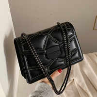 Vintage Small Rivet Flap Chain Shoulder Messenger Crossbody Bags Women Handbags Fashion Ladies Clutch Casual Totes Female Purse