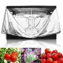 Lampa do uprawy roślin Led kryty namiot do uprawy hydroponicznej, pomieszczenie do uprawy roślin rosną, odblaskowe Mylar nietoksyczny ogród szklarnie 60/80/100