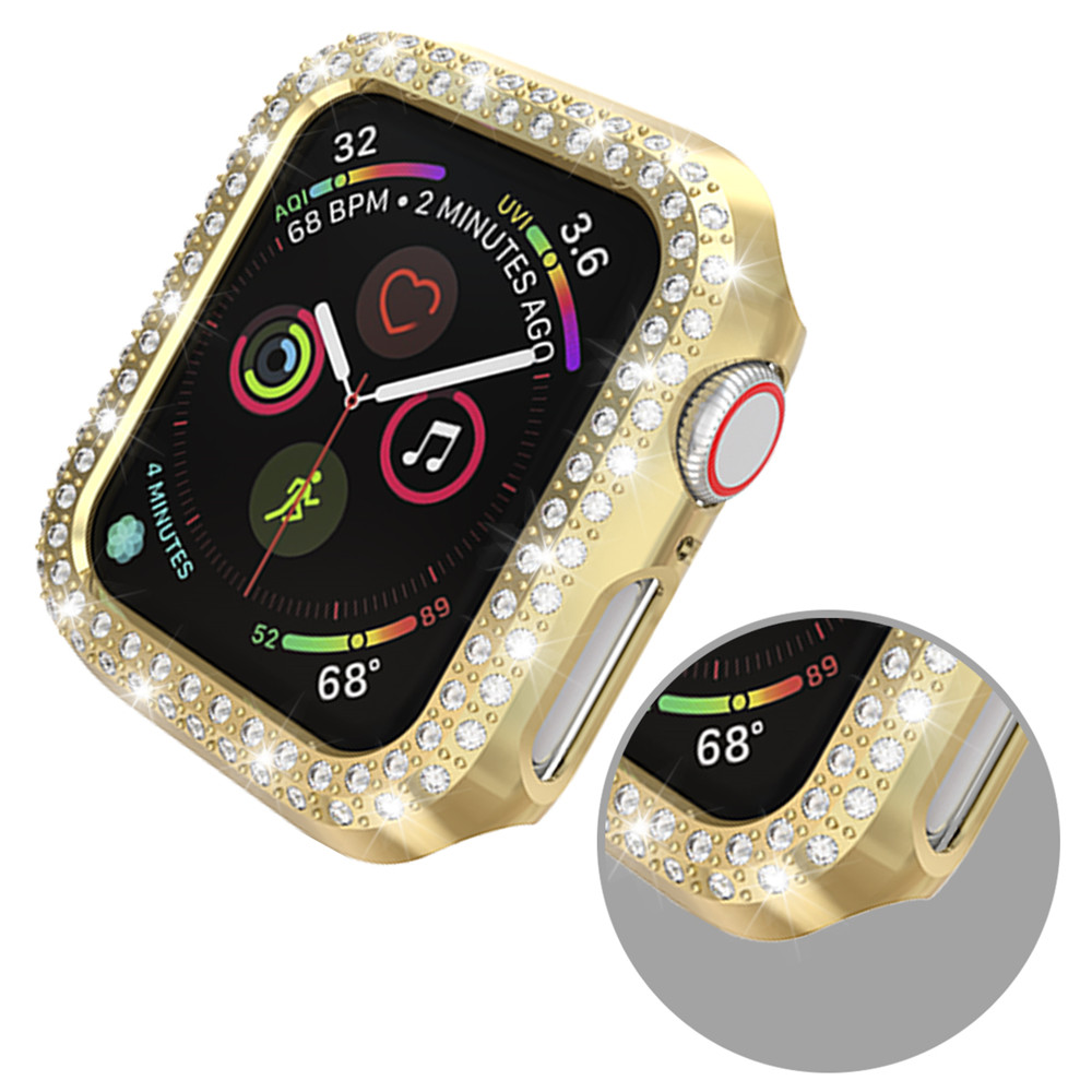 Double Rows Diamond Case for Apple Watch 30