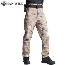 Hiking Pants Trekking Camping Pants Windproof Military Cargo Pant Camouflage Tactical Casual Trousers Men Pantalon Hombre new outdoor pants men women camping hiking mujer softshell pantalon hombre climbing camouflage thermal trekking hunting trousers