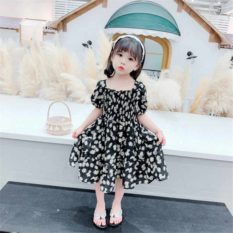 Flower Girl Dresses 2020 Summer Chiffon Kids Dresses Floral Children Clothing Princess Party Dress For Girls Clothes Vestidos Dresses Aliexpress