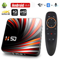 Android TV Box Android 10 4 ГБ 32 ГБ 64 Гб 4K H.265 медиаплеер 3D видео 2,4G 5 ГГц Wifi Bluetooth Smart TV Box телеприставка