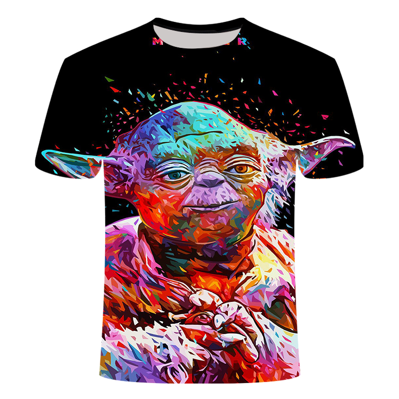 Newest 3D Printed Star Wars T Shirt Men Women Summer Short Sleeve Funny Top Tees Fashion Casual Clothing Asia Size 3 D T-shirt