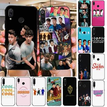 YNDFCNB Jonas Brothers Soft black Phone Case For Redmi note 8Pro 8T 6Pro 6A 9 Redmi 8 7 7A note 5 5A note 7 case image