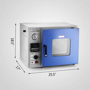 Image 2 - Horno de secado al vacío, horno de secado al vacío de 0,9 Cu Ft 250 °C, horno de secado al vacío de 450 vatios, horno de secado al vacío de laboratorio