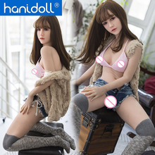 Hanidoll 148cm (4.86 ft) Silicone Sex Dolls  Japanese Love Doll Lifelike Realistic Ass Pussy Vagina Sex Toy for Men hdk 140 cm 4 5 ft silicone sex doll for men solid full size tit ass japanese sex robot realistic breast vagina love sex doll