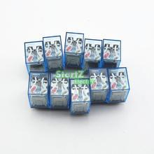 10 sztuk przekaźnik LY2NJ 220/240V AC mały przekaźnik 10A 8PIN cewki DPDT