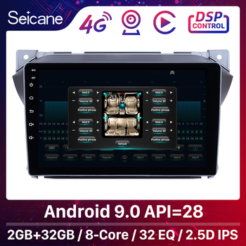 Seicane Android 9.0 8-Core For Suzuki alto 2009 2010 2011 2012 2013 2014 2015 2016 2Din 9 inch Car Multimedia Player GPS Navi image