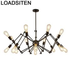 Loft Lampen Industrieel Pendelleuchte Candiles Modernos Nordic Light Luminaria Lampara De Techo Colgante Moderna Hanging Lamp