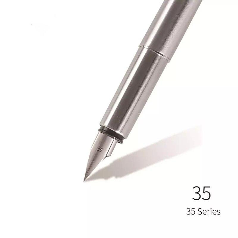 35 серии перьевая ручка Сталь баррель самолет Экстра тонкий