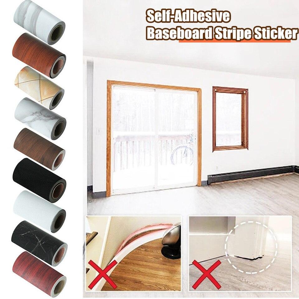 Baseboard Stickers Corner Floor Tiles