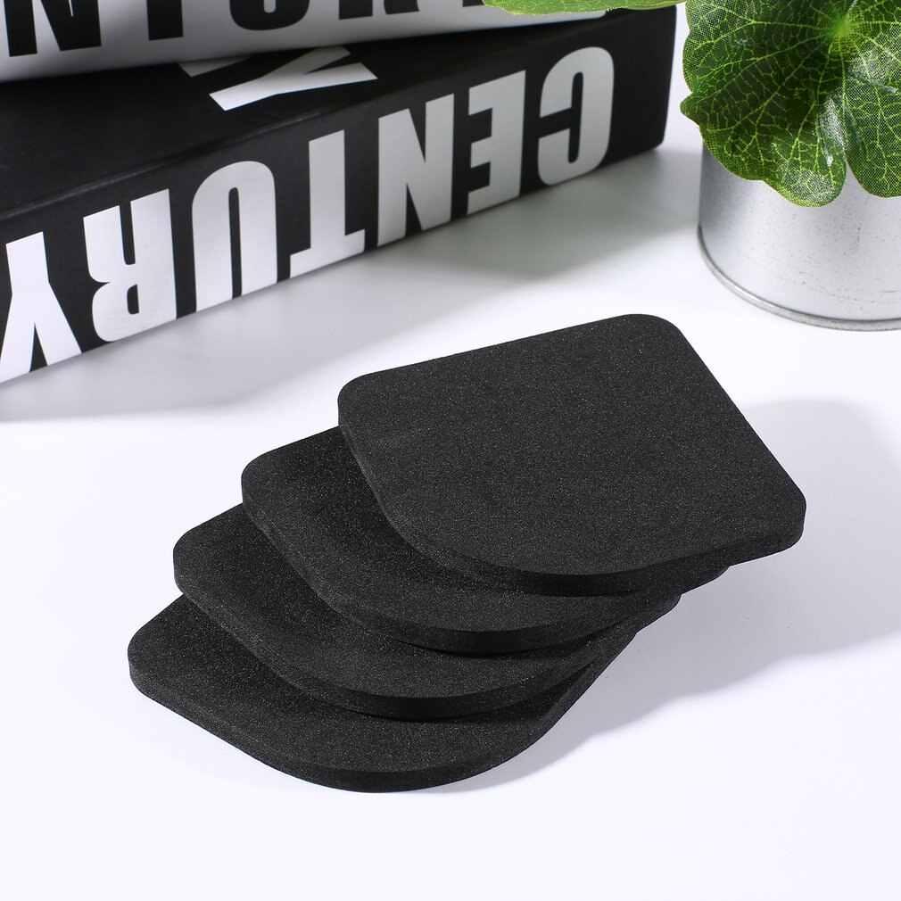 4 Uds. Alfombrillas antideslizantes para lavadora que reduce la vibración del refrigerador almohadilla contra el ruido de la lavadora alfombrilla a prueba de golpes