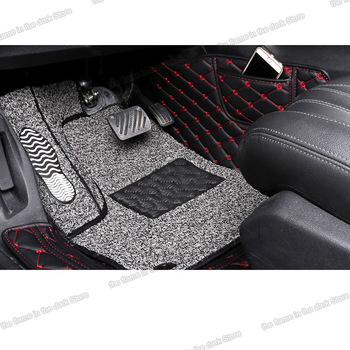 цена на Lsrtw2017 Leather Car Interior Floor Mat for Peugeot 3008 2019 2020 Foot Mat Interior Accessories