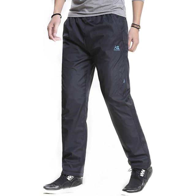 3XL Super warm Winter Fleece Thicken Men's casual Pants Heavyweight Men's Trousers Winter Waterproof Slim Fitted Sweatpants 6