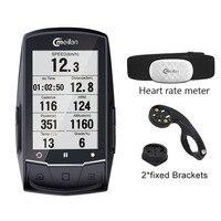 Meilan M1 Bike GPS Computer fahrrad GPS Navigation Bluetooth tacho Verbinden mit Cadence/HR Monitor (nicht enthalten)-in Fahrrad-Computer aus Sport und Unterhaltung bei