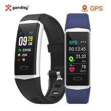 Rastreador de fitness inteligente pulseira gps relógio saúde das mulheres dos homens pulseiras esportes bluetooth 5.0 ip68 à prova dip68 água banda inteligente android