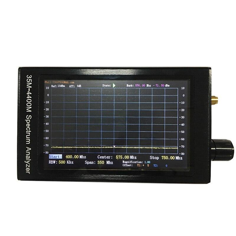 lcd sn 35m-4400m portátil ferramenta de análise