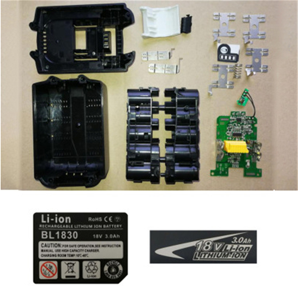 Battery Case Charging Protection PCB Circuit Board For MAKITA 18V BL1830 3.0Ah 5.0Ah BL1840 BL1850 Li-ion Battery Parts