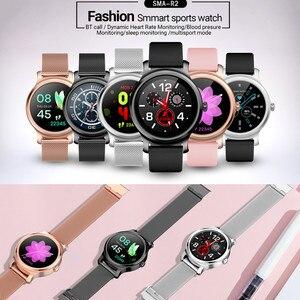 Image 2 - R2 Smart Horloge Mannen Vrouwen 1.28 Tastbaar Display Bluetooth Call Hartslag Bloeddrukmeter Sport Smartwatch Paar Horloge