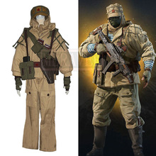 Tom Clancy's Rainbow Six Siege Maxim Basuda Kapkan Cosplay Costume