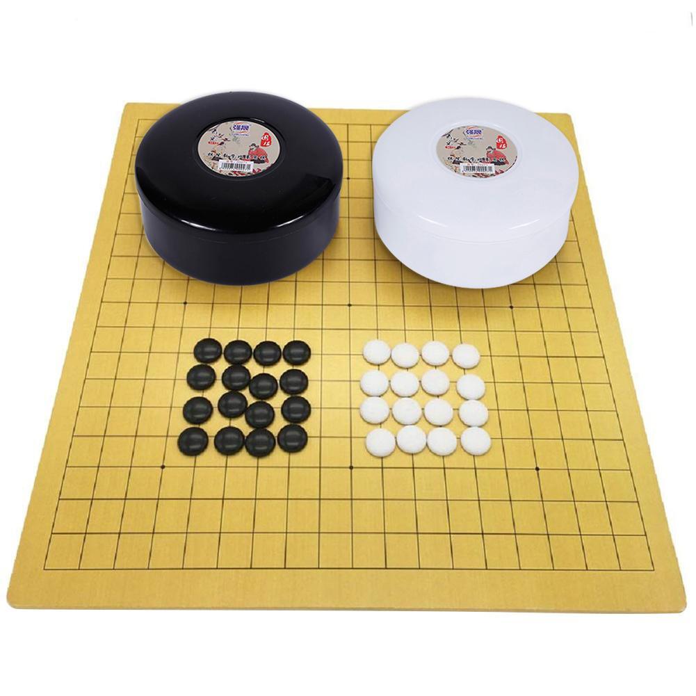 Chinois vieux jeu de société Weiqi dames aller jeu ensemble jeux de famille pour enfants amis divertissement éducatif jeu de société