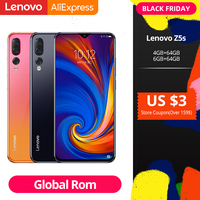 Global ROM Lenovo Z5s Snapdragon 710 Octa Core 6GB 64GB Mobile Phone Face ID 6.3inch Android P Triple Rear Camera Smartphone