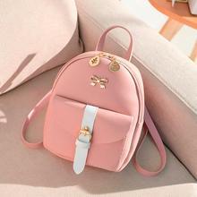 2019Top женский рюкзак, женский модный маленький женский рюкзак, кошелек с надписью, сумка для мобильного телефона, bolso mujer#25