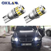 2x Canbus T10 W5W 168 194 светодиодный габаритный фонарь для Mercedes Benz W211 W221 W220 W163 W164 W203 C E SLK GLK CLS M GL
