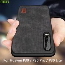 Funda Mofi para Huawei P30 Pro, carcasa de silicona a prueba de golpes, jeans, PU, cuero, TPU