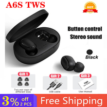 TWS Bluetooth Earphone Headsets Cancelling Handsfree Airdots-Noise Xiaomi Redmi A6s Pro