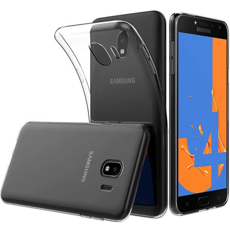 Soft TPU Phone Back Cover For Samsung Galaxy J2 Core Prime Pro 2018 Clear Silicone Thin Transparent Cases J2Core J2Prime J2Pro